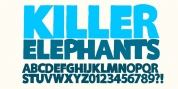 Killer Elephant font download