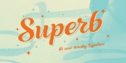 Superb font download
