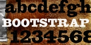 Bootstrap font download