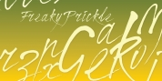 Freaky Prickle font download