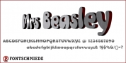 Mrs Beasley + font download