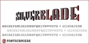 Silverblade font download
