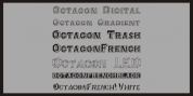 Octagon French font download