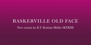 Baskerville Old Face KTKM font download