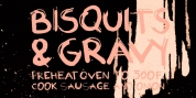 Biscuits And Gravy font download