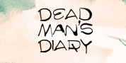 FT Dead Mans Diary font download