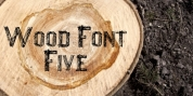 Wood Font Five font download