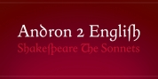 Andron 2 font download