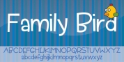 Family Bird font download