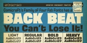 Back Beat font download