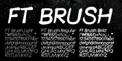 FT Brush font download