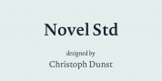 Novel Std font download