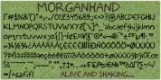 Morganhand font download