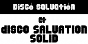 Disco Salvation font download