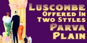Luscombe font download