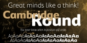 Cambridge Round font download