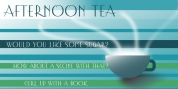 Afternoon Tea font download