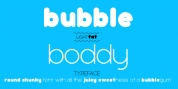 Bubbleboddy font download