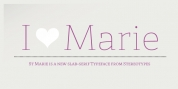 St Marie font download