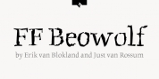 FF Beowolf font download