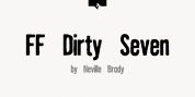 FF Dirty 7.2 font download