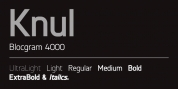Knul font download