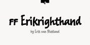 FF Erikrighthand font download
