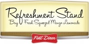 Refreshment Stand font download