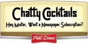 Chatty Cocktails font download