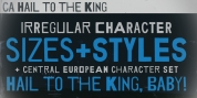 CA Hail To The King font download