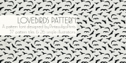 Love Birds Pattern font download