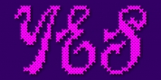 Cross Stitch Splendid font download