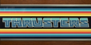 Thrusters font download