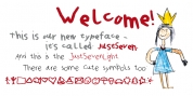 Just Seven font download