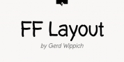 FF Layout font download