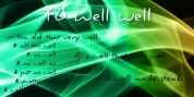 FG Well Well font download