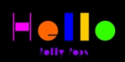 Rolly Pops font download