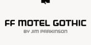 FF Motel Gothic font download