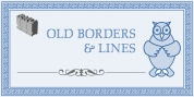 Old Borders And Lines font download
