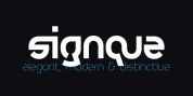 signque font download