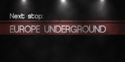 Europe Underground Worn font download