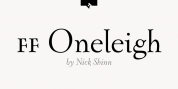 FF Oneleigh font download