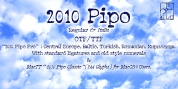 2010 Pipo font download