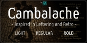 Cambalache font download