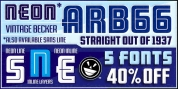 ARB 66 Neon font download