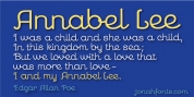 Annabel Lee font download