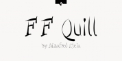 FF Quill font download