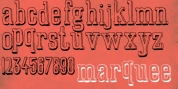 Marquee font download