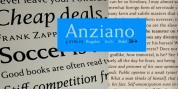 Anziano Pro font download