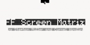 FF Screen Matrix font download